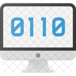 Binary Language Icon