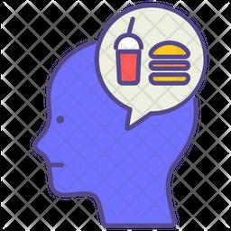 Binge Eating Icon