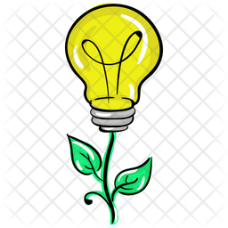 Bio Electricity Icon