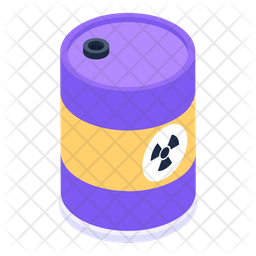 Biohazard Barrel Icon