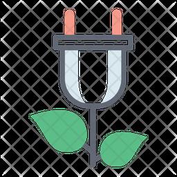 Biomass Energy Icon