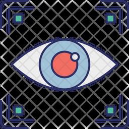 Biometric Access Icon