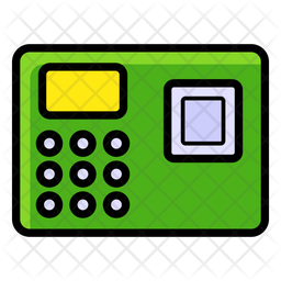 Biometric Attendance Icon