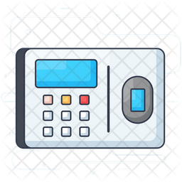 Biometric Device Icon