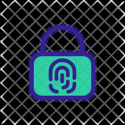 Biometric Lock Icon