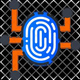 Biometric Management Icon