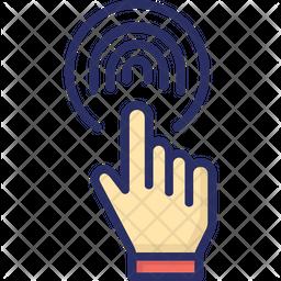 Biometric Reader Icon