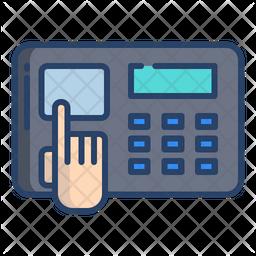 Biometric Scanner Icon