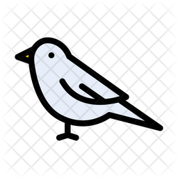 Bird Icon Of Colored Outline Style Available In Svg Png Eps Ai Icon Fonts