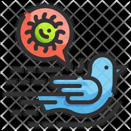 Bird Virus Icon