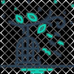 Birds Cage Icon
