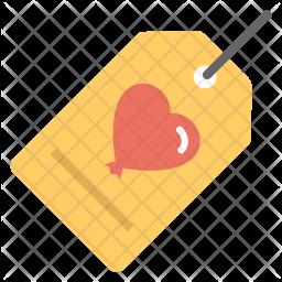 Birthday Bookmark Icon