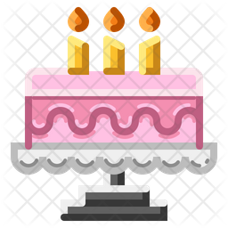 Brilliant Birthday Cake Icon Of Flat Style Available In Svg Png Eps Ai Funny Birthday Cards Online Kookostrdamsfinfo