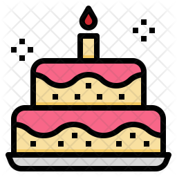 Premium Birthday Cake Icon Download In Svg Png Eps Ai Ico Icns