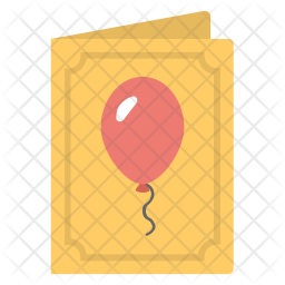 Birthday Card Icon