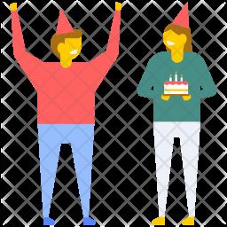 Birthday Celebrations Icon