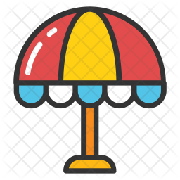 Bistro Umbrella Icon