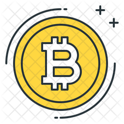 Bitcoin Icon Of Colored Outline Style Available In Svg Png Eps Ai Icon Fonts