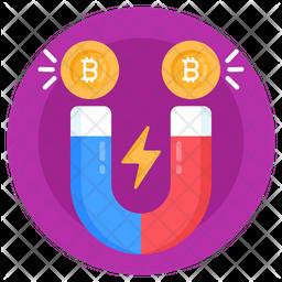 Bitcoin Attraction Icon