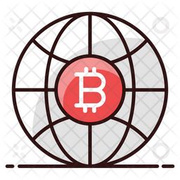Bitcoin Business Icon
