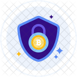 Bitcoin encryption Icon
