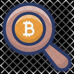 Bitcoin Exploration Icon