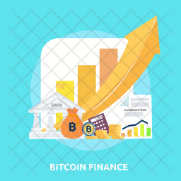 Bitcoin Finance Icon