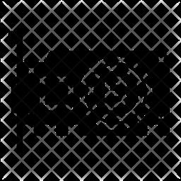 Bitcoin Graphic Card Icon