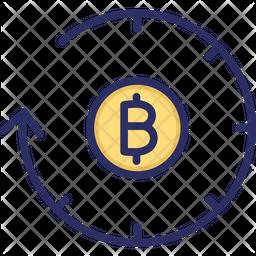 Bitcoin History Icon