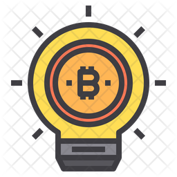 Bitcoin Innovation Icon