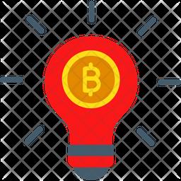 Bitcoin innovation Icon