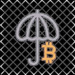 Bitcoin Insurance Icon