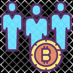 Bitcoin Investors Icon