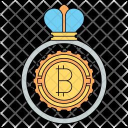 Bitcoin king Icon