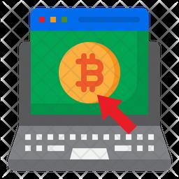 Bitcoin Login Icon