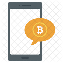 Bitcoin Message Icon