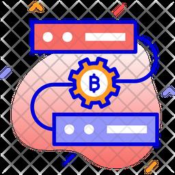 Bitcoin mining software Icon