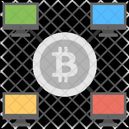 Bitcoin Monitoring Icon