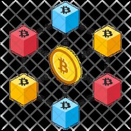 Bitcoin Network Icon