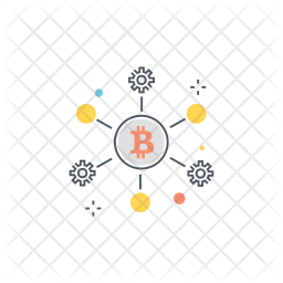 Bitcoin networking Icon