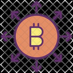 Bitcoin Organisation Icon