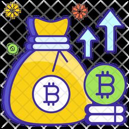 Bitcoin Profit Icon