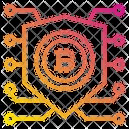 Bitcoin Protect Icon