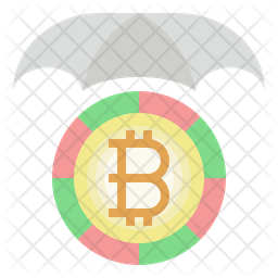 Bitcoin protection Icon