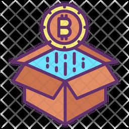 Bitcoin Raise Icon