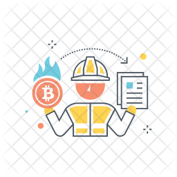 Bitcoin rate Icon