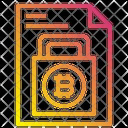 Bitcoin Report Icon
