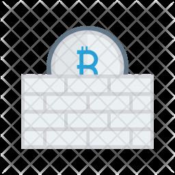 Bitcoin safety Icon