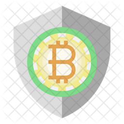 Bitcoin secure Icon