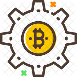 Bitcoin Setting Icon